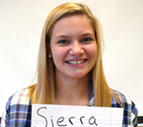 Photograph of Sierra Dobson