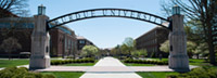 Purdue University Gate